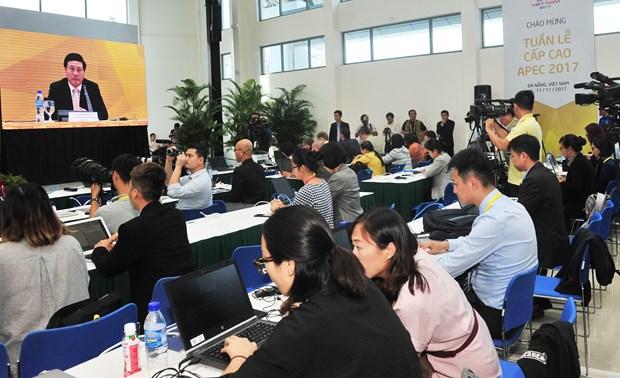 范平明:APEC部长级会议为地区增长作出贡献 hinh anh 1