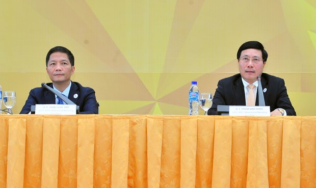 2017年APEC会议:第29届部长级会议通过四项重要文件 hinh anh 1