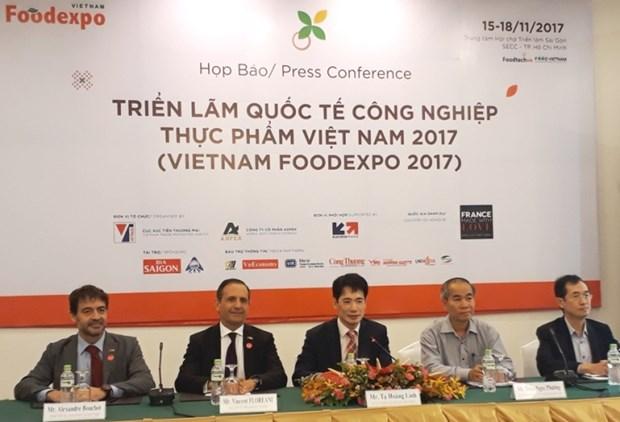 2017年越南国际食品工业展览会吸引450家企业将参展 hinh anh 1