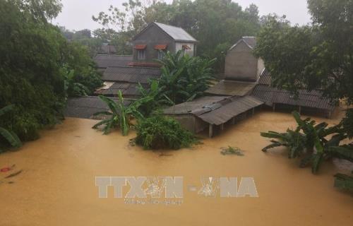 老挝国家主席本扬·沃拉吉致电慰问越南受灾群众 hinh anh 1