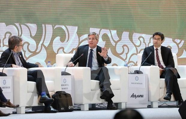 2017年APEC会议:越南经济增长给普华永道全球主席罗浩智留下积极印象 hinh anh 1