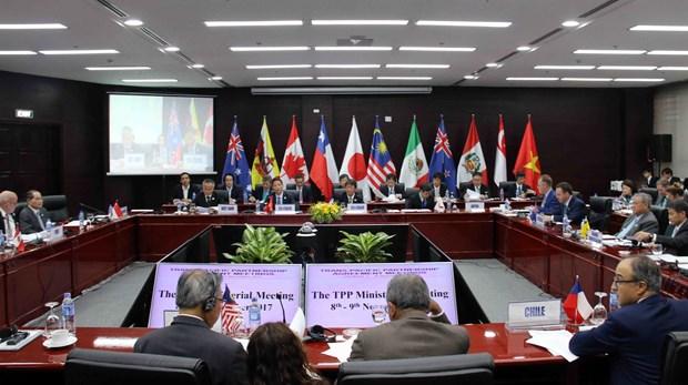 《跨太平洋伙伴关系协定》部长级会议在岘港市召开 hinh anh 1