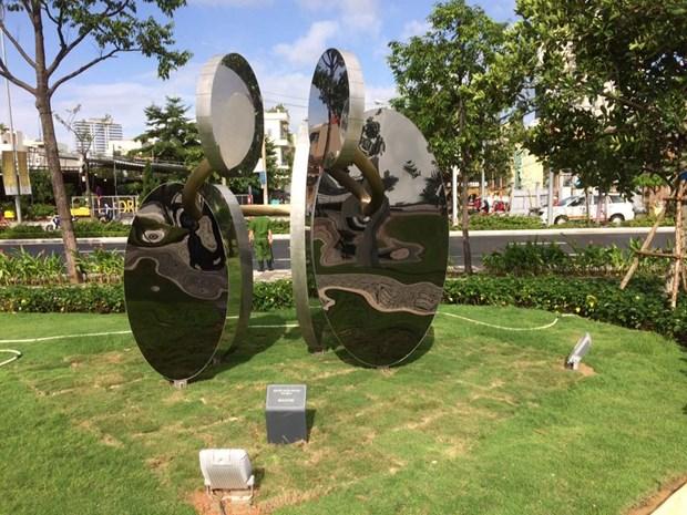岘港市APEC公园正式开放 hinh anh 3