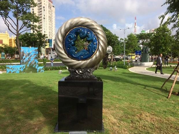 岘港市APEC公园正式开放 hinh anh 4