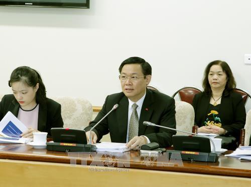 王廷惠:不让商贩利用自然灾害借机涨价 hinh anh 1