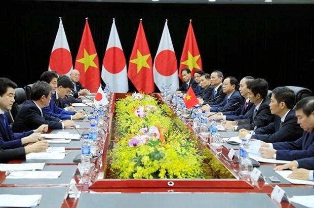 越南国家主席陈大光会见日本首相安倍晋三 hinh anh 3