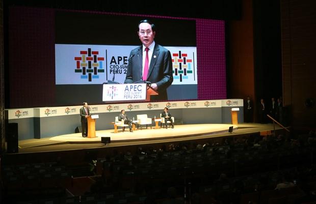 2017年APEC会议:新时代会有新的就业机会 hinh anh 1