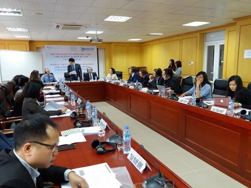 越南与德国就报道有关欧盟和东盟的信息相互分享经验 hinh anh 1
