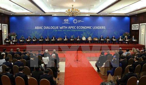 APEC经济体领导人与工商咨询理事会代表直接对话 hinh anh 1