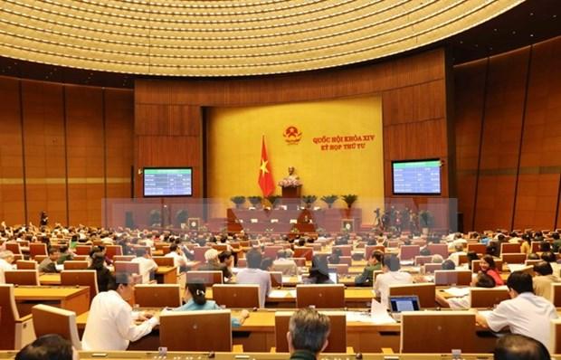 第十四届国会第四次会议:《2018年经济社会发展计划》决议以84.98%的赞成率获得通过 hinh anh 1