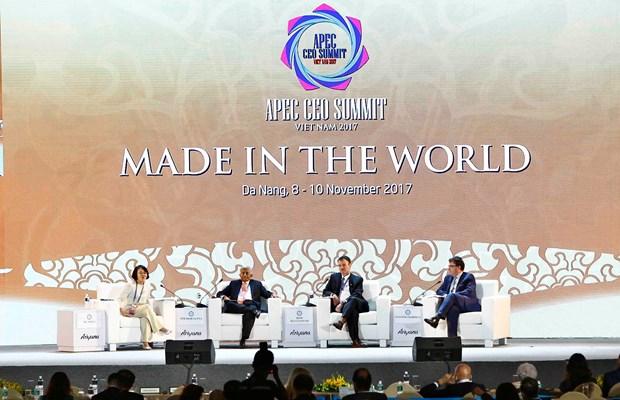 2017年APEC会议期间金融领域的亮点 hinh anh 1