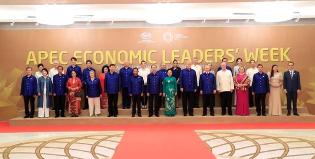 2017年APEC会议:越南国家主席陈大光主持晚宴 欢迎APEC领导人夫妇 hinh anh 4