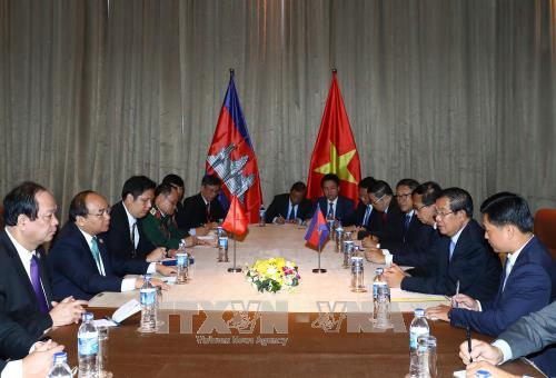 越南一贯主张重视并希望继续巩固与柬埔寨的友好合作关系 hinh anh 2