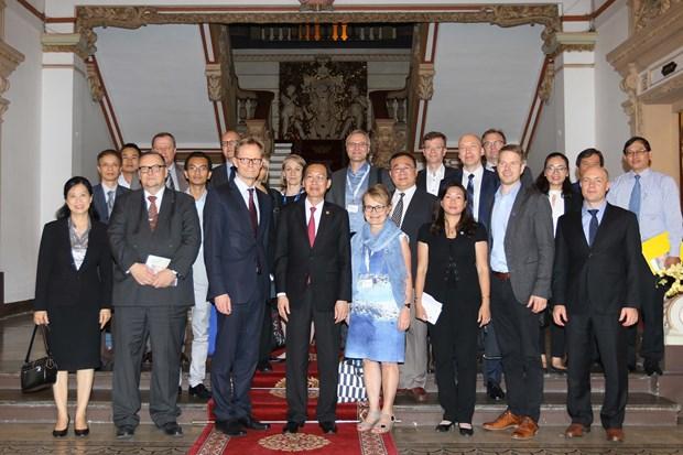 胡志明市与芬兰加强水资源管理和改革创新领域的合作 hinh anh 3