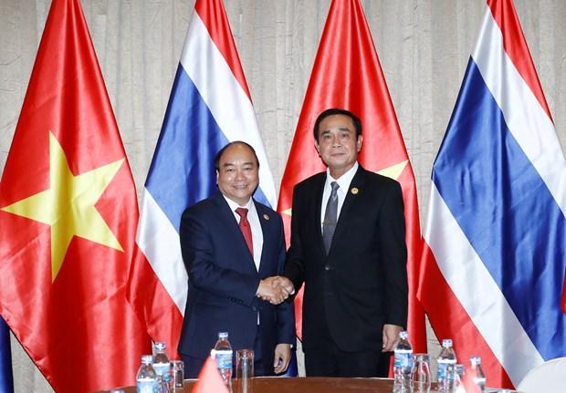 2017年APEC会议:政府总理阮春福会见泰国总理巴育 hinh anh 1