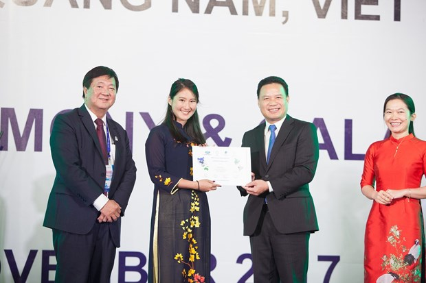 2017年APEC会议:未来之声论坛通过《青年宣言》 hinh anh 3