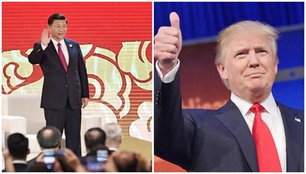 2017年APEC会议:美国和中国领导人对国际贸易发表对立表态 hinh anh 1