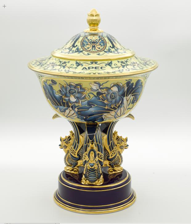 明隆瓷器亮相APEC——越南陶瓷行业之骄傲 hinh anh 5