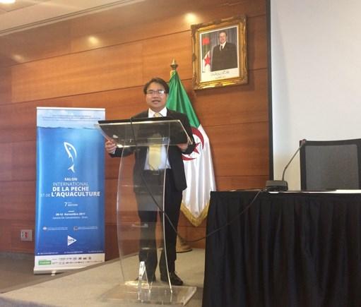 越南参加在阿尔及利亚举行关于渔业与水产养殖业的国际展会 hinh anh 2