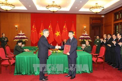 越南与中国签署和互相交换19项合作文件 hinh anh 2