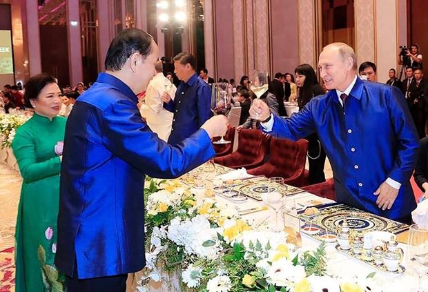 明隆瓷器亮相APEC——越南陶瓷行业之骄傲 hinh anh 6