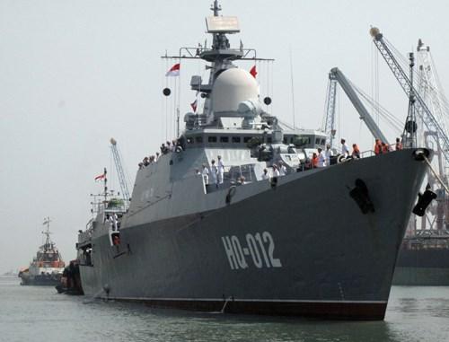 越南海军参加第一届东盟海军多边演习 hinh anh 1