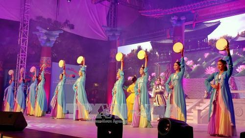 胡志明市与韩国庆州市文化交活动在阮惠步行街举行 hinh anh 1