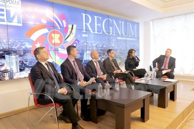 """""""在新地缘政治形势下的东盟资源""""专家座谈会在俄罗斯举行 hinh anh 1"""