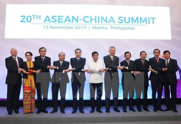 东盟与中国承诺加强东海环境保护合作 hinh anh 1