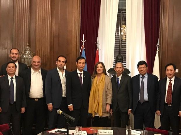 促进河内市与巴西、阿根廷和智利的合作 hinh anh 1
