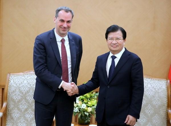 西门子公司董事成员:越南软件工业发展潜力巨大 hinh anh 1