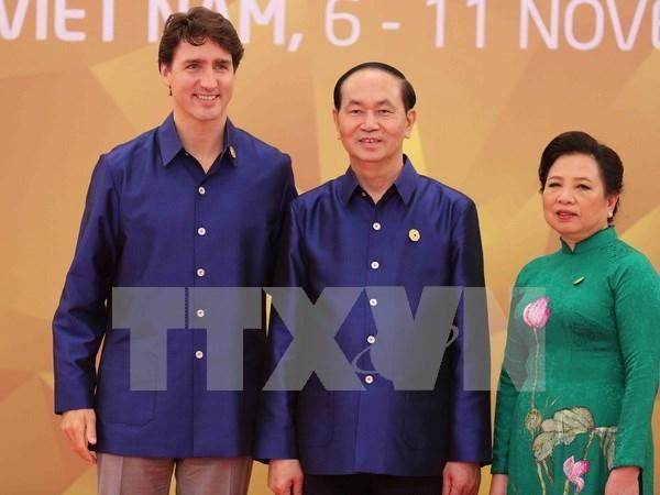 2017年APEC会议:APEC成员经济体领导人的礼品 汇聚越南传统手工艺精髓 hinh anh 2