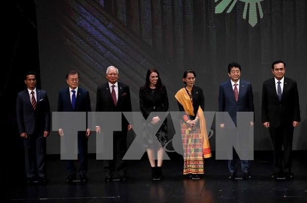 第31届东盟峰会:韩国总统拟发展韩国与东盟未来共同体 hinh anh 1