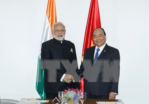 越南与印度一致同意加大双边合作力度 hinh anh 1