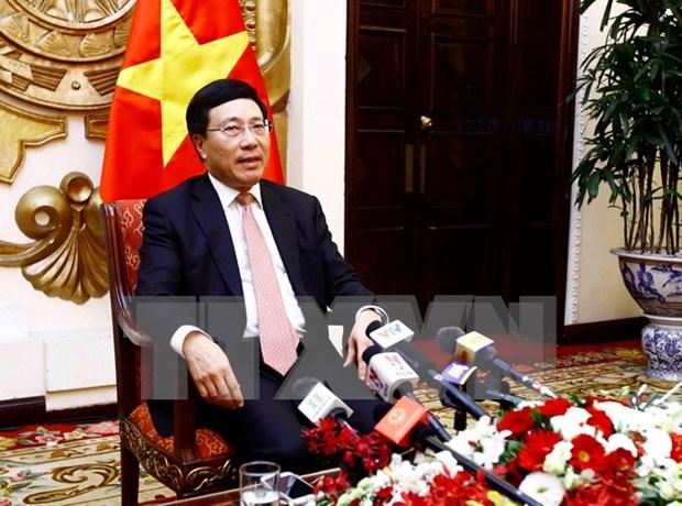 越南政府副总理范平明:2017年APEC领导人会议周取得全面成功 hinh anh 1
