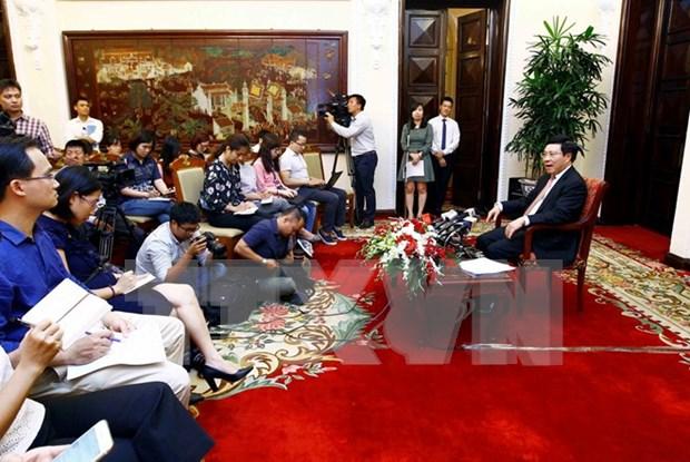 越南政府副总理范平明:2017年APEC领导人会议周取得全面成功 hinh anh 2