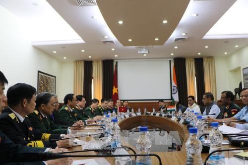 越南人民军高级代表团对印度进行访问 hinh anh 3