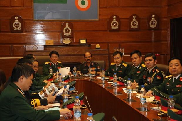 进一步加强越印国防合作关系 hinh anh 2