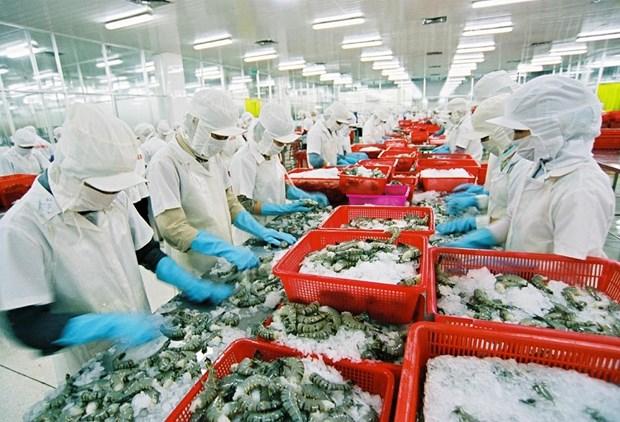 越南虾类对韩国出口增长29.8% hinh anh 1