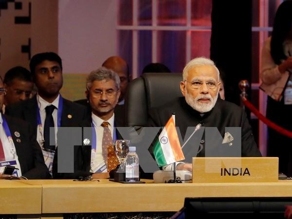 第31届东盟峰会:印度支持在印度洋—太平洋构建基于法律的区域安全架构 hinh anh 1