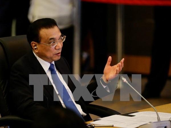 第31届东盟峰会:马来西亚总理积极评价中国国务院总理关于东海的发言 hinh anh 1