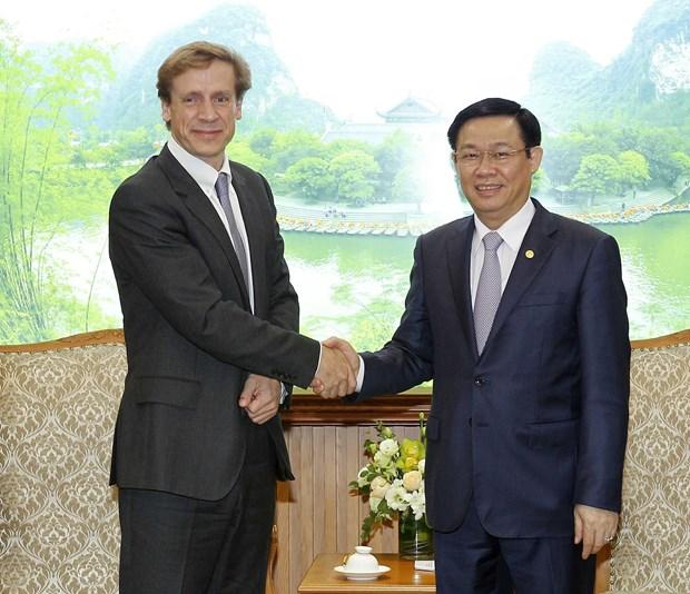 政府副总理王廷惠:越南重视2018年世界经济论坛年会 hinh anh 1