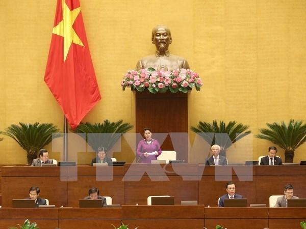 第十四届国会第四次会议质询会正式开幕 4位部长接受代表质询 hinh anh 1