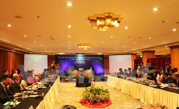 """第27届""""处理东海潜在冲突研讨会""""在印尼举行 hinh anh 1"""