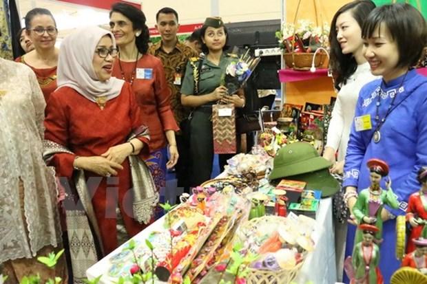第50次年度义卖展销会在印尼举办 hinh anh 1