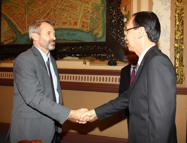 胡志明市与国际金融公司加强合作 hinh anh 1