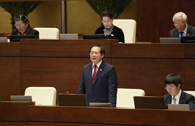 越南信息传媒部长张明俊:利用报纸媒体的正面信息来驳斥社交媒体上的负面信息 hinh anh 2