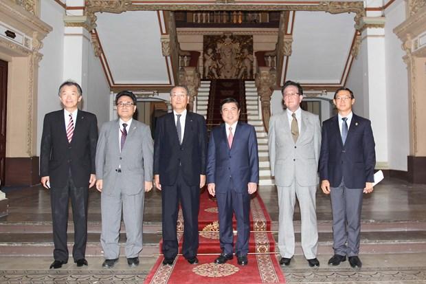 胡志明市与日本北海道加强农业、贸易和旅游的合作 hinh anh 1