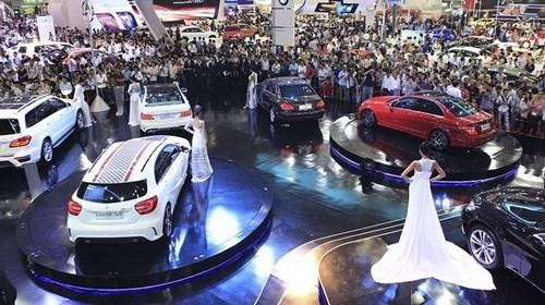 2017年越南汽车销量难以实现增长10%的目标 hinh anh 1