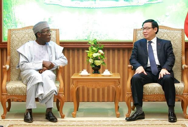 越南政府副总理王廷惠:越南希望促进与尼日利亚多方面合作关系 hinh anh 1